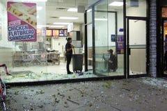 16 2010 городов ударяют новый торнадо york в сентябре Стоковые Фотографии RF