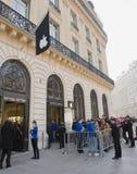 16 2012年法国行军巴黎 库存图片