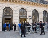 16 2012年法国行军巴黎 免版税库存照片
