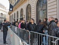 16 2012年法国行军巴黎 免版税库存图片