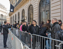 16 2012 Франции paris -го маршей Стоковые Изображения RF