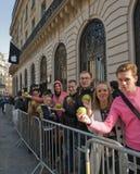 16 2012 Франции paris -го маршей Стоковое Изображение RF