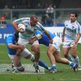 16 22 2010 испытаний рэгби спички Аргентины Италии против Стоковые Изображения RF