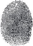 16指纹 免版税库存图片