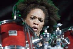 16 4月2011日节日爵士乐kriol 图库摄影