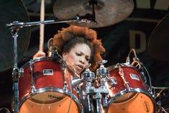 16 4月2011日节日爵士乐kriol 免版税库存照片