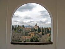 16 alhambra granada Стоковое Фото