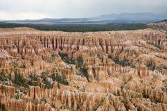 16 bryce峡谷游览 库存照片
