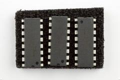 16 circuitos integrados do pino Imagem de Stock