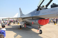 16 f战斗机 库存图片