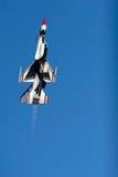 16 f figther喷气机雷鸟 免版税库存照片