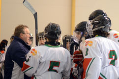 16 gier Hungary icehockey Italy Zdjęcie Stock