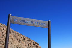 16 Golden Stairs-Barr Trail, Pikes Peak Stock Photography