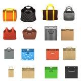 16 handbags Stock Images