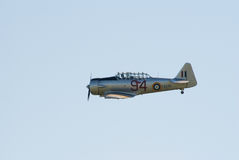AT-16 Harward II im Flug Stockbild