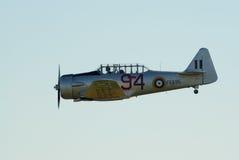 AT-16 Harward II no vôo Foto de Stock