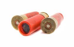 16 kaliberkassetter som jagar hagelgeväret Royaltyfria Foton