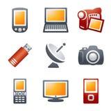 16 koloru ikon strona internetowa Zdjęcia Stock