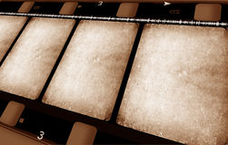 16 milímetros de rolo de película Fotos de Stock