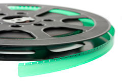 16 mm film reel i Stock Photography