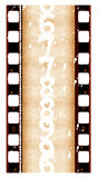 16 mm Film roll. 2D digital art Stock Images