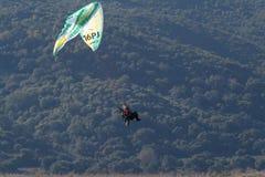 16 som motorgliding Arkivbilder