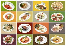 16 Speciality Course. Stock Photography