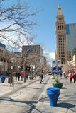 16. Straßen-Mall in Denver, Kolorado Stockbilder