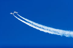 16 thunderbirds πετάγματος φ Στοκ εικόνες με δικαίωμα ελεύθερης χρήσης