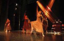 16 współczesnego tańca Obraz Royalty Free