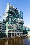 160 rooms Inntel Hotel in Zaandam, Netherlands Stock Images