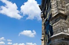 1600年教会复制klok巨大的空间 免版税库存照片