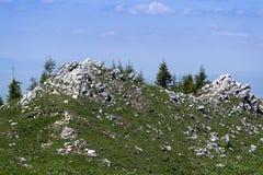1600 meters mountain summit royalty free stock photos