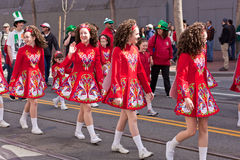 The 160th Annual St. Patrick's Day Royalty Free Stock Photo