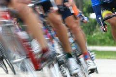 168自行车比赛 免版税图库摄影