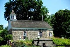 1685年教会荷兰语空心ny老困 图库摄影