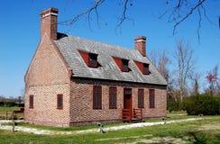 1685年hertford房子nc newbold白色 库存照片