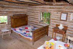 1690 Log Cabin royalty free stock images