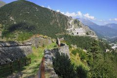 1694年堡垒mutin 库存照片