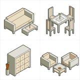 16b设计要素p 免版税库存图片