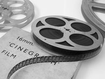 16mm影片轴 免版税库存图片