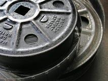16mm胶卷轴 免版税库存照片