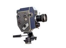 16mm 8mm减速火箭照相机的电影 库存照片
