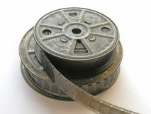 16mm Film. Spools Stock Images