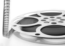 16mm Film Spools Royalty Free Stock Photo