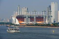 16th квадрат haixinsha guangzhou Азиатских игр Стоковая Фотография RF