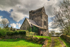16th Century Craggaunowen castle. In Co. Clare - Ireland royalty free stock photos
