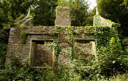 16th century ruins. Old 16th century english building ruins Stock Images