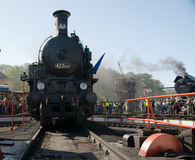 16th Steam Locomotive Parade 2009 - Loco 423 041 Royalty Free Stock Photography