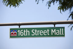16th Street Mall Stock Images